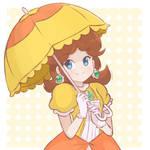 Princess Daisy - Parasol Art
