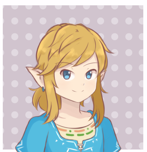 The Legend Of Zelda Botw Link Portrait By Chocomiru02 On