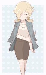 Princess Rosalina - Office Outfit by chocomiru02