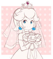 Princess Peach - Wedding Dress (Preview) by chocomiru02