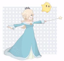 Smash Bros Ult. - Princess Rosalina And Luma by chocomiru02