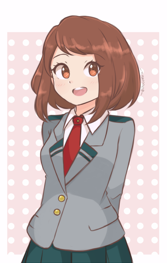 Boku No Hero Academia - Ochako Uraraka by chocomiru02