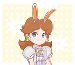 Princess Daisy - Bunny Hood Happy Easter!