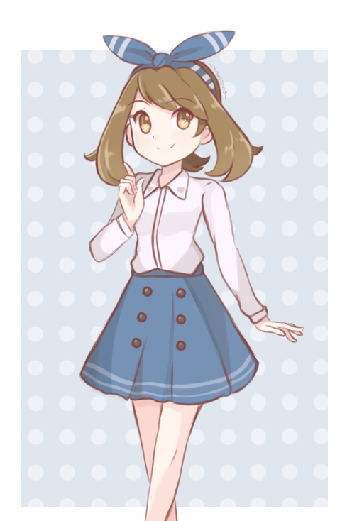 Pokemon - Trainer May Alt. Outfit by chocomiru02