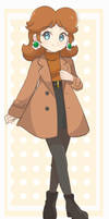 Princess Daisy - Winter Outfit