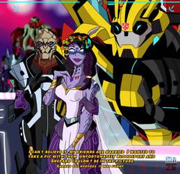 Blog of the Bumblebee:Space Wedding
