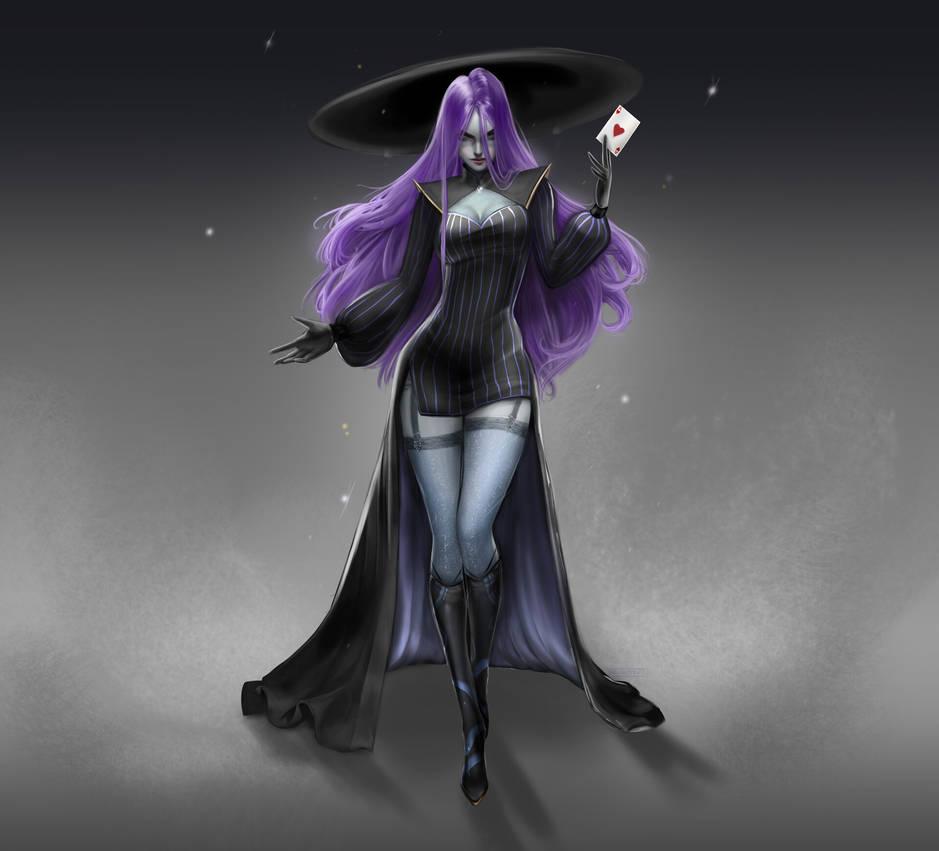 Character Design: Goddess of Luck, Luciana
