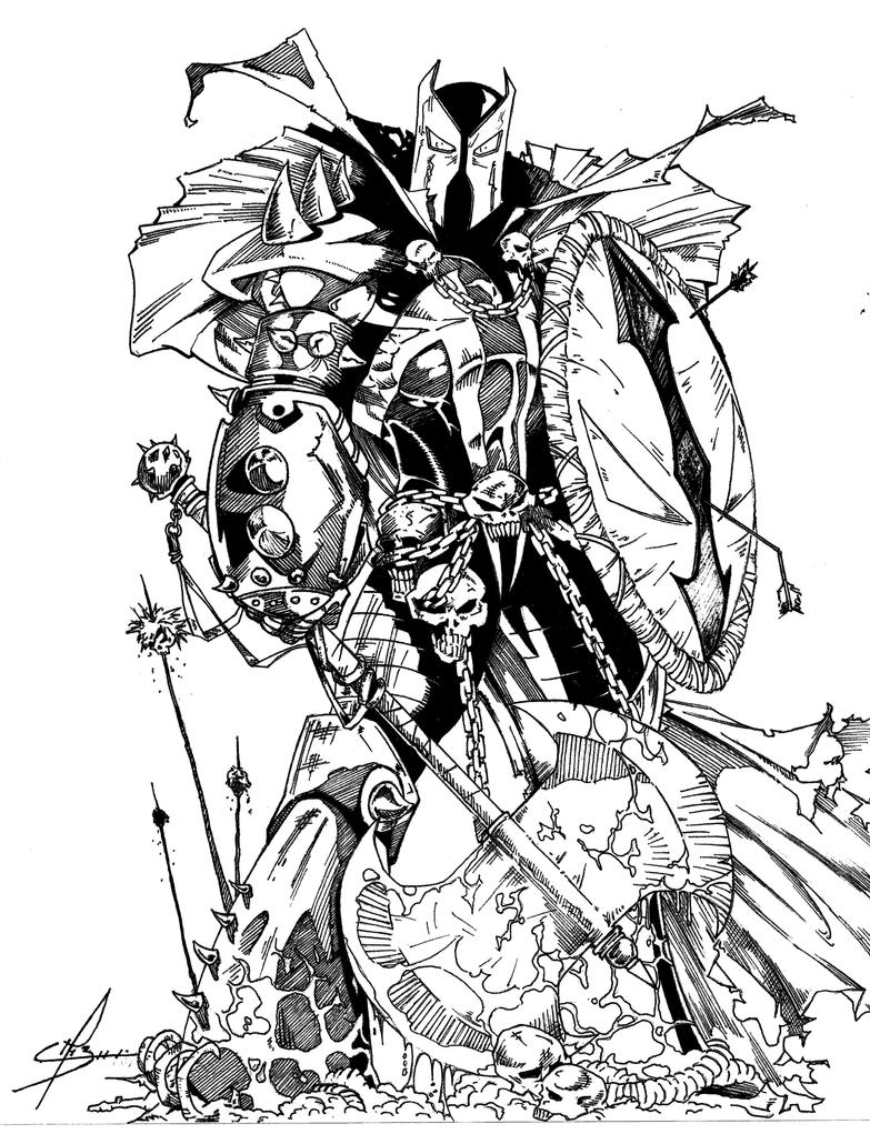Medieval spawn by maurodechinu on deviantart for Spawn coloring pages