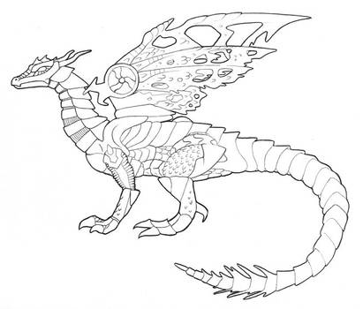 Transmetal Dragon by Rose-Hunter