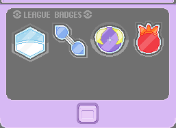 Rain and Flame Badges: SO FAR.... by pandalover68