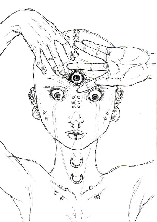 Prying Open My Third Eye By Somniferum On DeviantArt