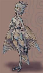 bird lady by somniferum