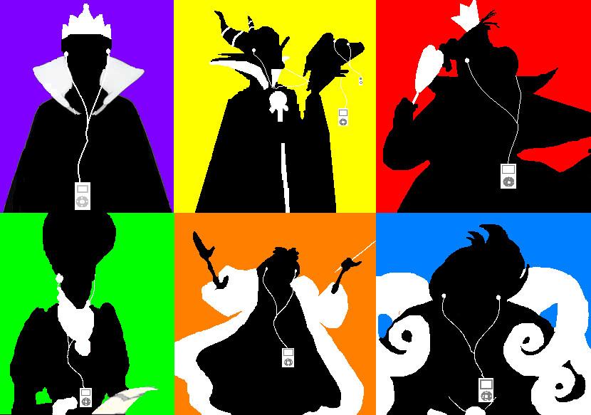 iPod Villains by CrazyIdea-Inc