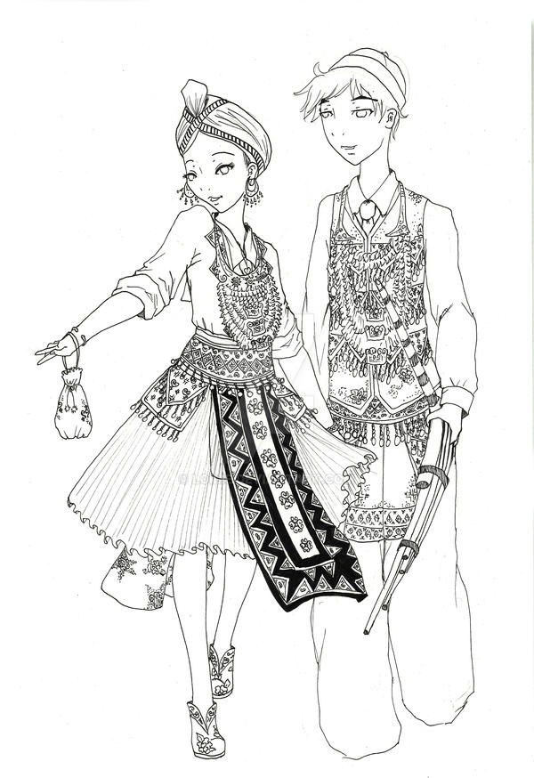 hmong coloring pages for kids - photo#1