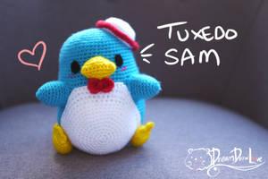 Tuxedo Sam Amigurumi + Sale!