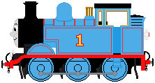 Thomas The Tank Engine (Walt Disney style) sprite