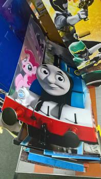 Thomas The Tank Engine and Pinkie Pie
