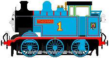 Thomas The Tank Engine sprite (my design)
