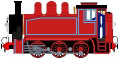 Rosie (red livery) by Curtis-Parish