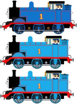 Thomas The Tank Engine (E2 designs) sprites