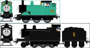 TAB Thomas and James alt liveries (my designs)