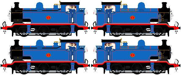The Adventures Of Thomas sprites