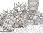 Epic Mickey: Clock Tower Boss