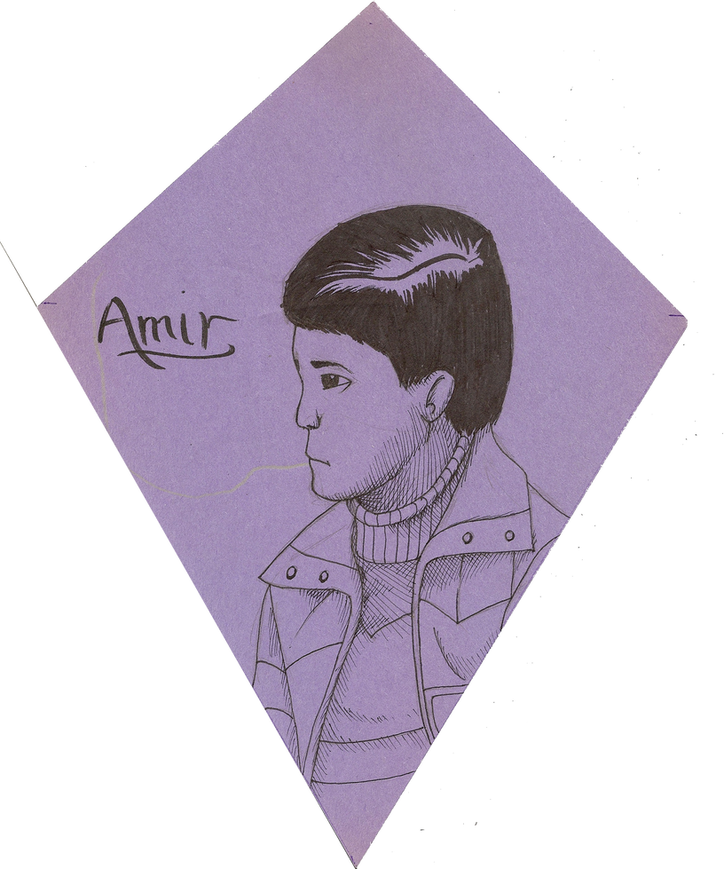 browsing drawings on amir from kite runner by klashkrool
