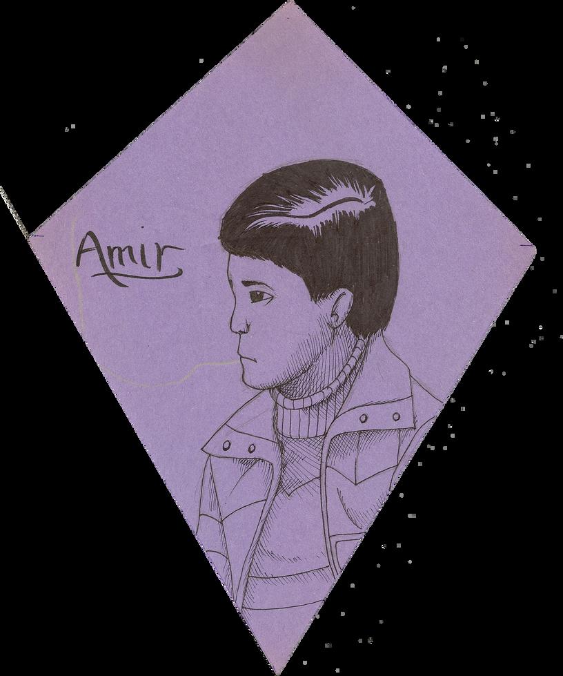 browsing drawings on amir from kite runner by klashkrool