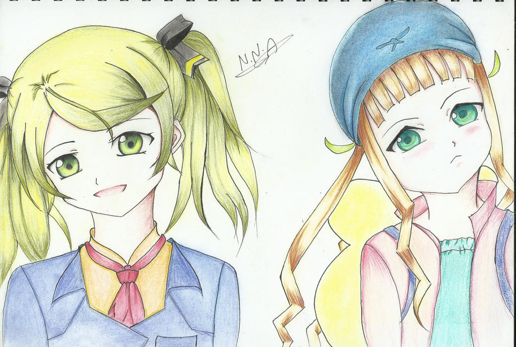 Elize and Elle by NNA12