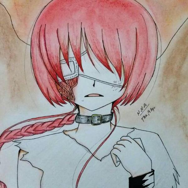 Anime girl by NNA12
