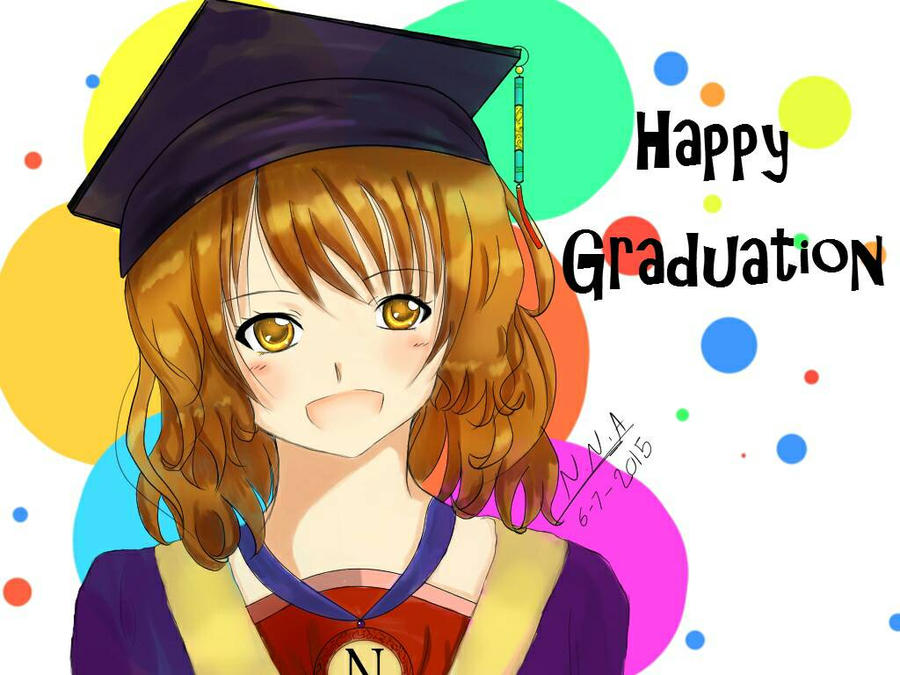 Happy Graduation! by NNA12