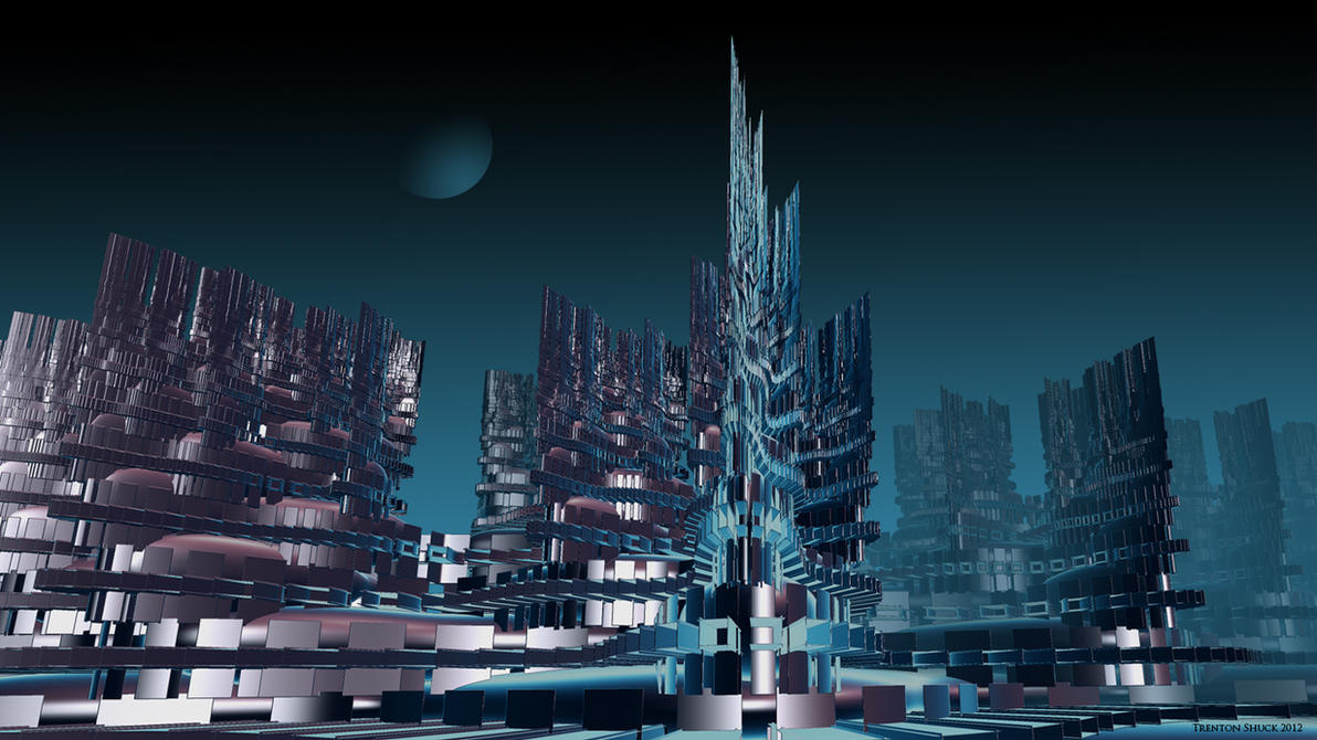 Cyber City by Trenton-Shuck