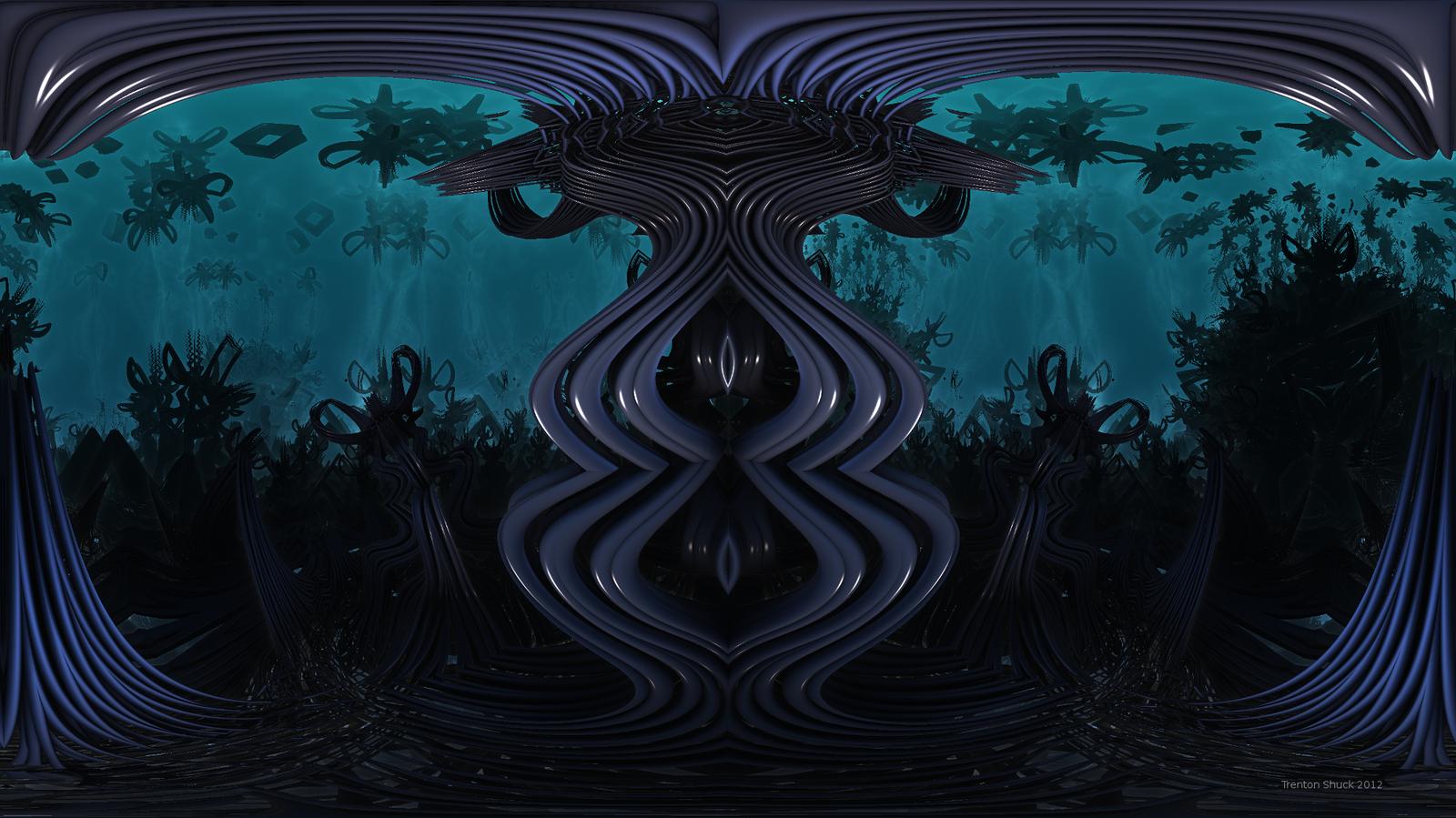 Aqua Totem by Trenton-Shuck