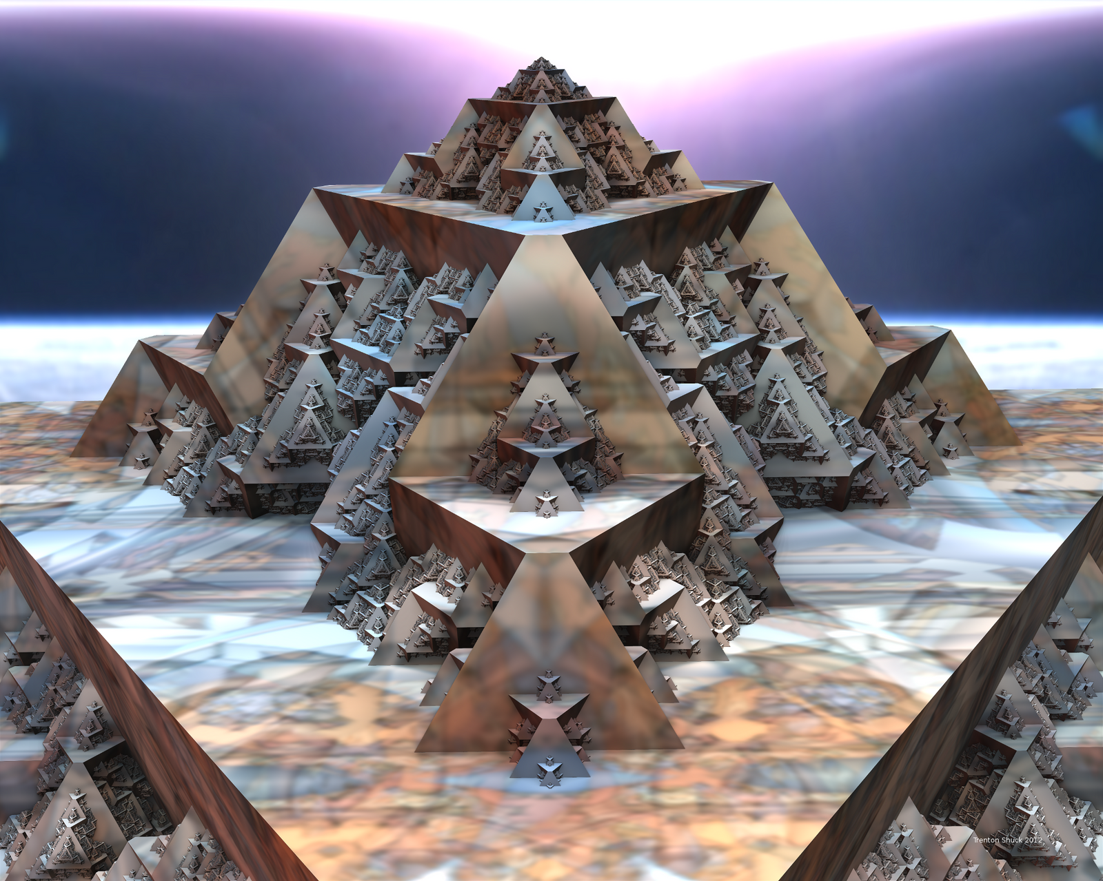 Mgyptian Pyramid by Trenton-Shuck