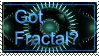 Got Fractal? stamp by Trenton-Shuck
