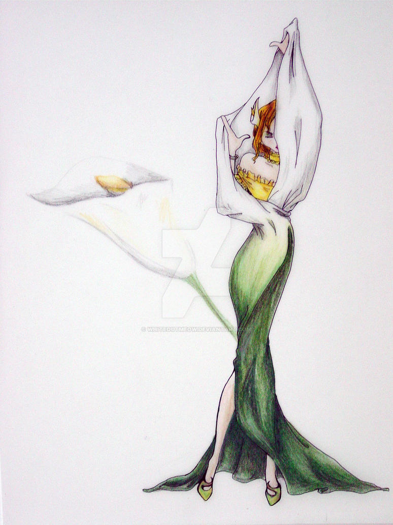 The Callas Lily by whiteoutmeow
