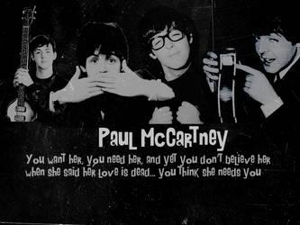 Paul McCartney Wallpaper by xMrsPaulinaMcCartney