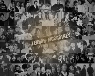 Lennon-McCartney Collage by xMrsPaulinaMcCartney