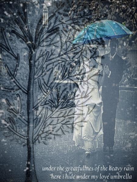 Love Under Pours of Rain by natashaadria on DeviantArt