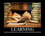 Motivational Poster: Learning