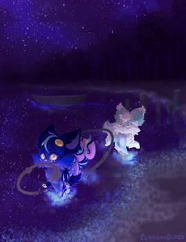 Night Lake Romp