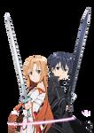 Sword Art Online render