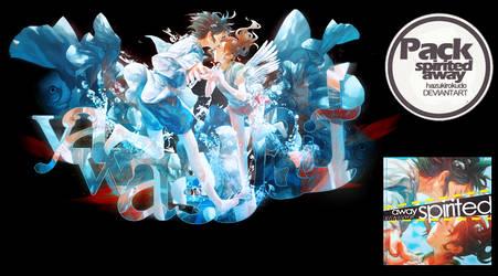 Pack: Spirited Away by HazukiRokudo