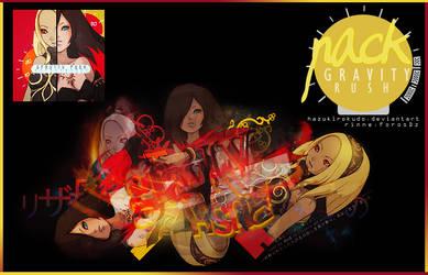 Pack: Gravity Rush by HazukiRokudo
