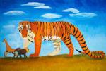 Komodo Tiger by WailordLucy