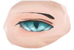 Cat-Like Eyes Practice by Rexafrek