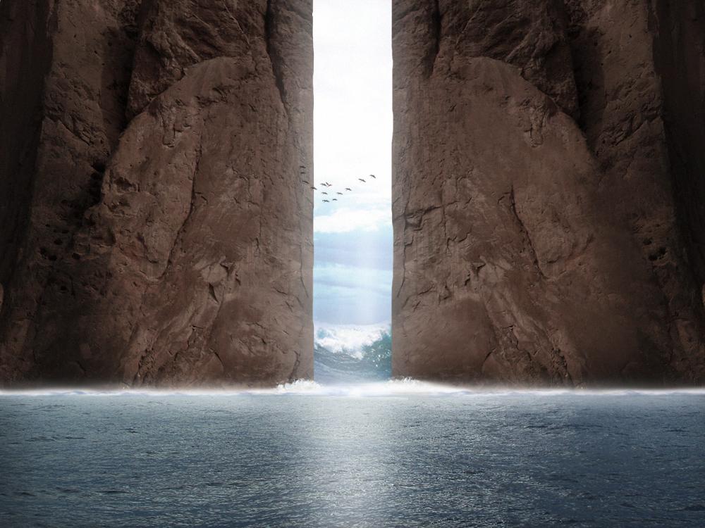 Sea Rock by DaVinci-PSC