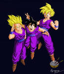 Dragon Ball - Gohan 10 (All Teen color)