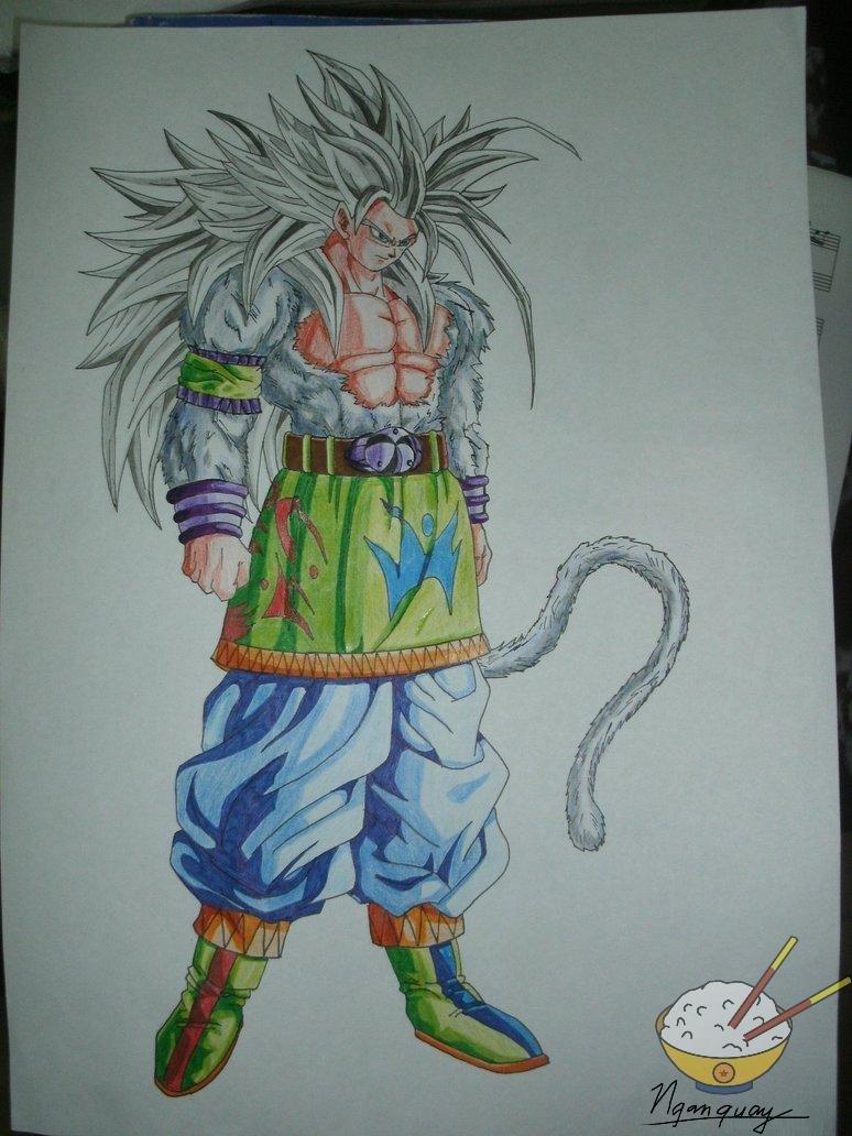 Chibi Goku : Kid Goku Super Saiyan 2, Chibi Goku Super Saiyan, Adult ...